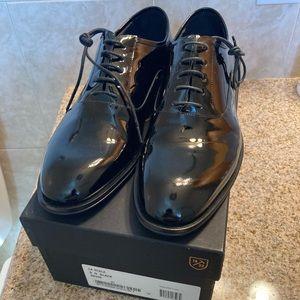 Allen Edmonds La Scala Black Patent Shoes 9